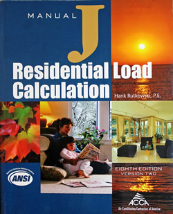 Manual J - Residential Load Calculation