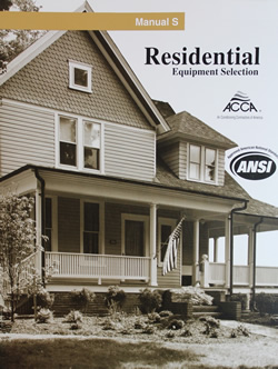 Manual S - Residential Equipment Solutions